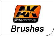 AK Paint Brushes