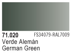 Model Air - German Green 020 <br>Vallejo71020