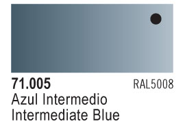 Model Air - Intermediate Blue 005 <br>Vallejo71005