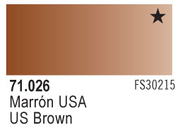 Model Air - US Flat Brown 026 <br>Vallejo71026
