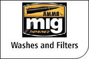 MIG Ammo Enamel Washes and Filters